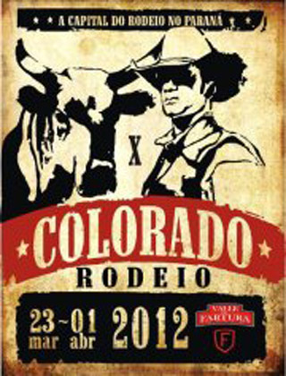 rodeio colorado 2012 poster