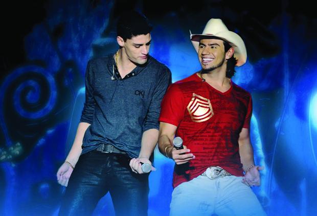 Munhoz e Mariano em Shows 2013