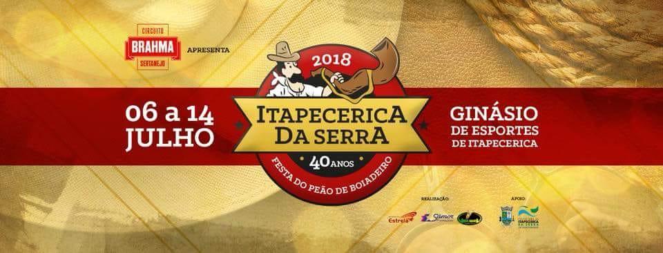 Rodeio Itapecerica 2018